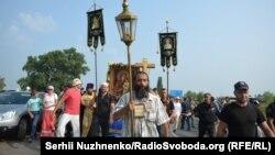 Крестный ход УПЦ (МП), 25 июля 2016