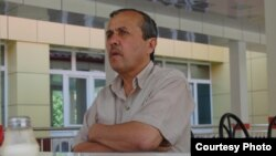 BBC correspondent Urunboy Usmonov in a June photo