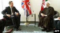 ԱՄՆ - Իրանի նախագահի և Մեծ Բրիտանիայի վարչապետի հանդիպումը ՄԱԿ-ում, Նյու Յորք, 24-ը սեպտեմբերի, 2014թ․