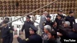 Sabirabadda polis AXCP-nin toplantısını dağıdır - 20 aprel 2013