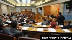 Sjednica crnogorske Skupštine, 26. jul 2012.