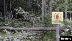 Pamje e kufirit të Estonisë me Rusinë ku ishte rrëmbyer Eston Kohver