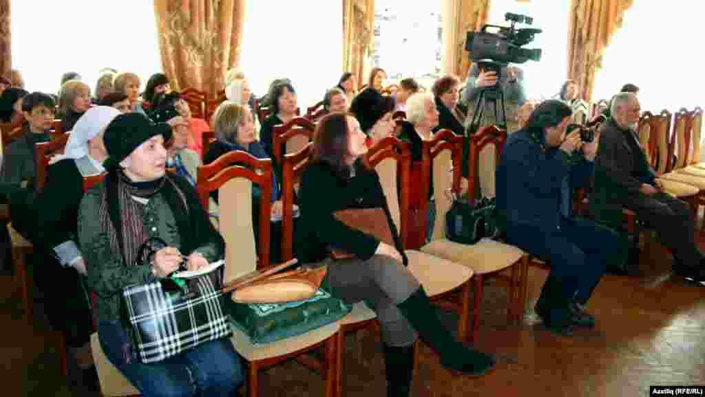Габдулла Тукай музеенда 2012 елгы Тукай премиясе кандидатлары белән очрашу