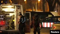 Берлиндин түштүгүндөгү полиция рейди. 26-ноябрь, 2015-жыл.