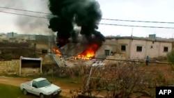 Обстрел населенных пунктов в провинции Идлиб