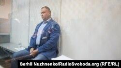 Олег Гладковський під час обрання запобіжного заходу, 18 жовтня 2019 року