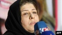İraqlı jurnalist Afrah Shawqi, Bağdad, 4 yanvar 2017