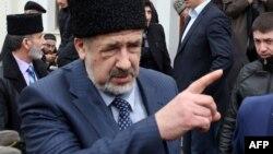 Глава меджлиса крымских татар Рефат Чубаров.