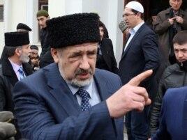 Қырымның бас мүфтиі, әрі меджлис төрағасы Рефат Чубаров.