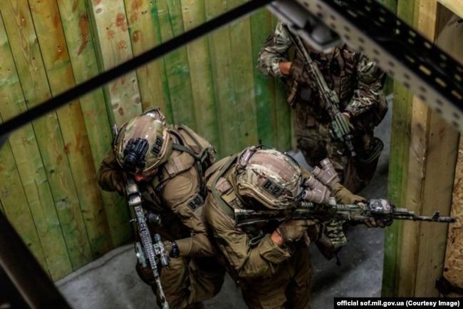 Бійці ССО. Фото пресслужби Командування Сил спецоперацій