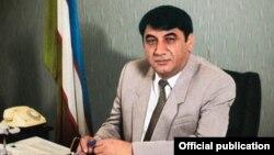 Бывший хоким (глава администрации) Ташкента, позже экс-руководитель Ташкентской области Козим Туляганов. Фотография снята в 90-х годах прошлого века.
