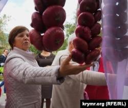 Продаж ялтинської цибулі, архівне фото