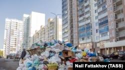 Последствия закрытия городской свалки в Челябинске, сентябрь 2018