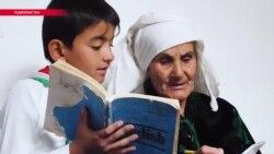 72 жастағы Марзиямо ағылшын тілін үйреніп жатыр