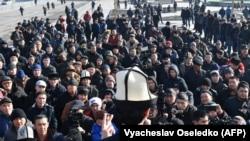 Митинг против незаконной миграции, организованный движением «Кырк уруу жети дубан», 7 января 2019 г.