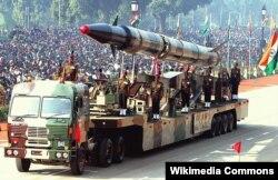 Военный парад в Индии. Дели, 2004 год