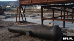 Піднята гармата (за попередніми дослідженнями, з військового корабля ХІХ ст., не виключено – з «Принца»)