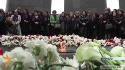 Հերմինե Նաղդալյանը մեկնաբանում է ՀՀԿ-ական տիկնանց երթը