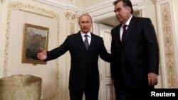 Рахмон в гостях у Путина, 1 августа 2013 года, Москва