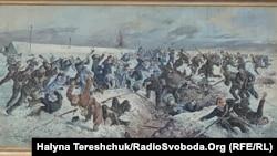 Картина Олександра Климка «Бій під Крутами»