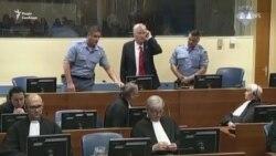Відео з суду в Гаазі: Младича засудили до довічного ув'язнення (відео)