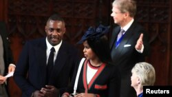Բրիտանացի սևամորթ կինոաստղ Իդրիս Էլբան Վինձորի պալատում, արխիվ