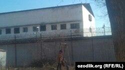 Здание бывшей «Таштюрьмы», январь 2018 года.