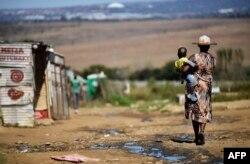 Большинство чернокожих жителей ЮАР до сих пор живет в нищете