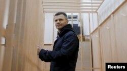 Владелец аэропорта Домодедово Дмитрий Каменщик в суде, 19 февраля 2016 года