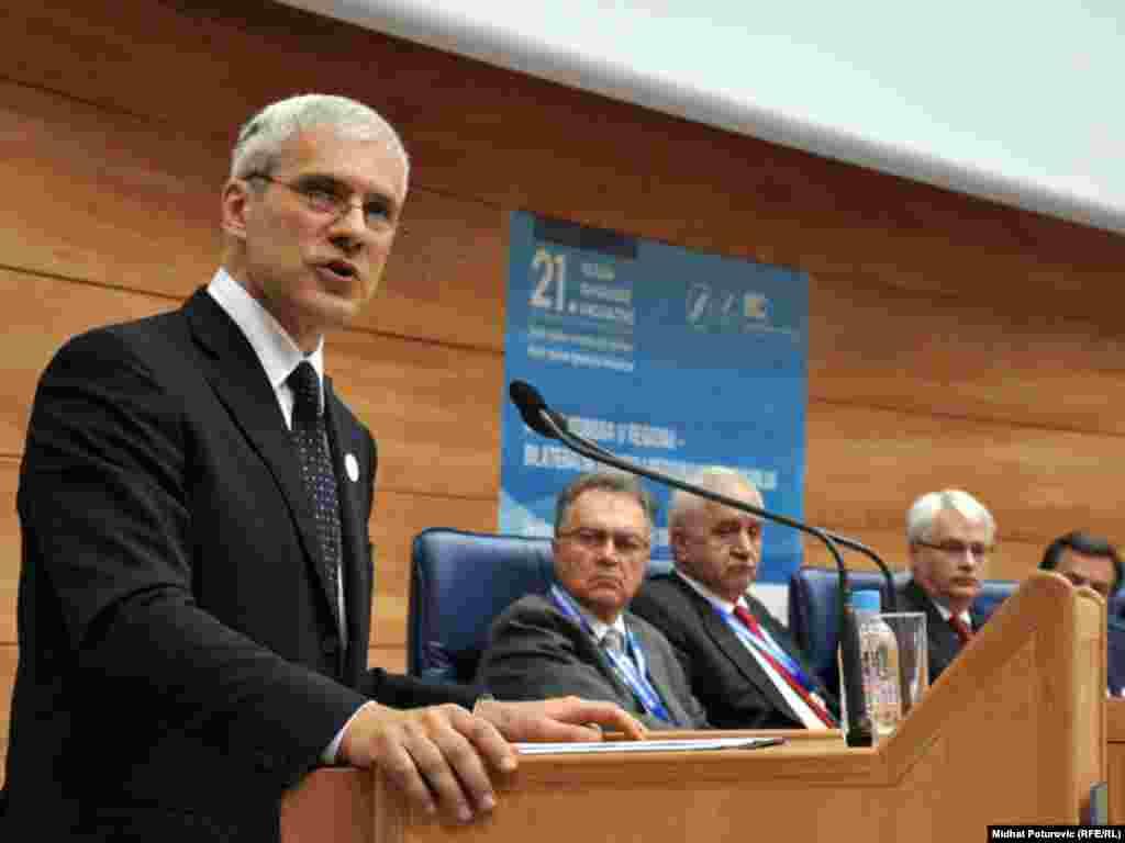 Predsjednik Srbije Boris Tadić - Photo: Midhat Poturović