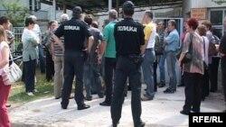 Архивска фотографија: Работнички протести во Битола во 2009 година.