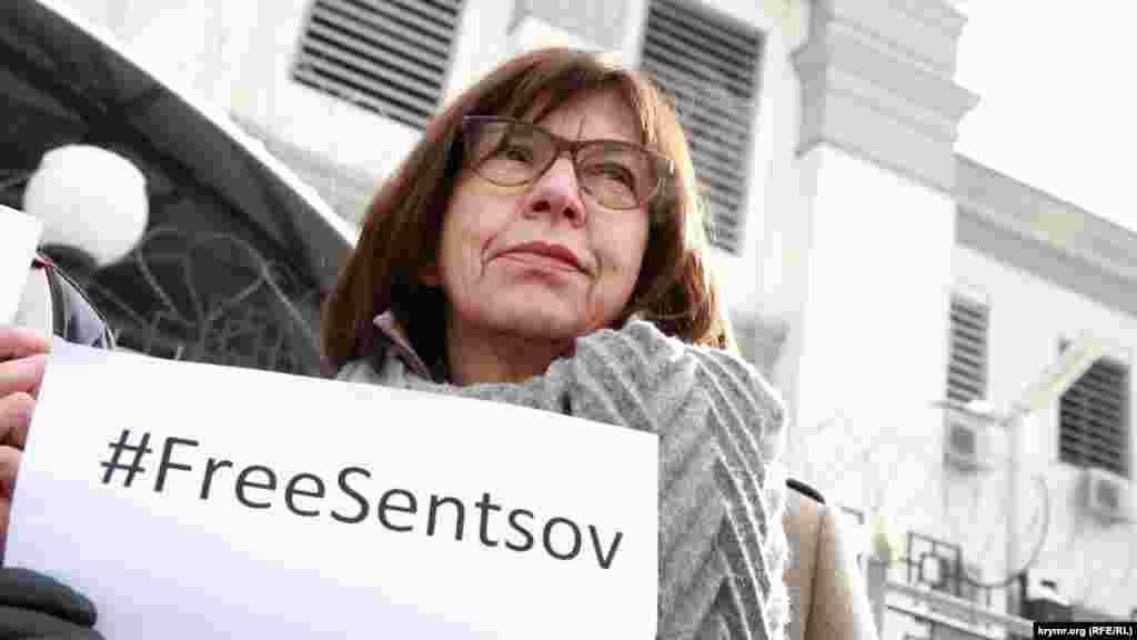 В акції взяла участь депутат Європарламенту Ребекка Хармс