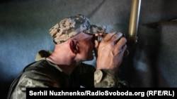 Українські військові кажуть, що з початку доби бойовики відкривали вогоньв бік позицій ЗСУ 7 разів