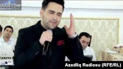 Популярный туркменский певец Назир Хабибов.