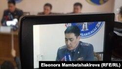 Самат Курманкулов, начальник ГУВД Чуйской области Кыргызстана.