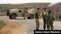 مرز اسرائیل و سوریه بر بلندیهای جولان
