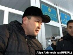 Адвокат Серик Эстияров. Талдыкорган, 11 декабря 2012 года.