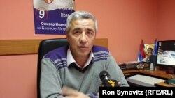 Kandidati për kryetar të komunës së Mitrovicës së veriut, Oliver Ivanoviq