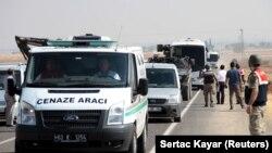 Kobane: Sahranjen Ajlan Kurdi sa porodicom