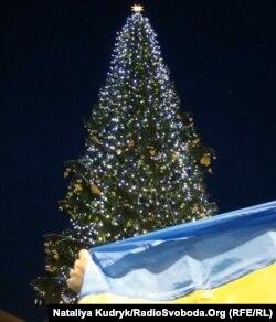 Церемонія відкриття різдвяної ялинки з України, Ватикан, 16 грудня 2011 року