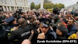 Столкновения в Тбилиси (10 октября 2017 г.)