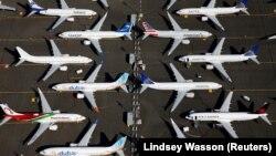 Aeroplanët e llojit, 737 Max, të prodhuar nga Boeing.