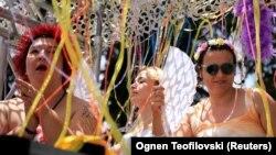 Прайд парадът в Скопие се проведе на 26 юни 2021 г.