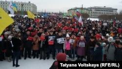 Марш Немцова в Санкт-Петербурге