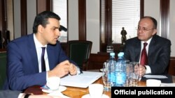 Սեյրան Օհանյանն ընդունել է Հայաստանի նորանշանակ օմբուդսմեն Արման Թաթոյանին, 12-ը մարտի, 2016թ․