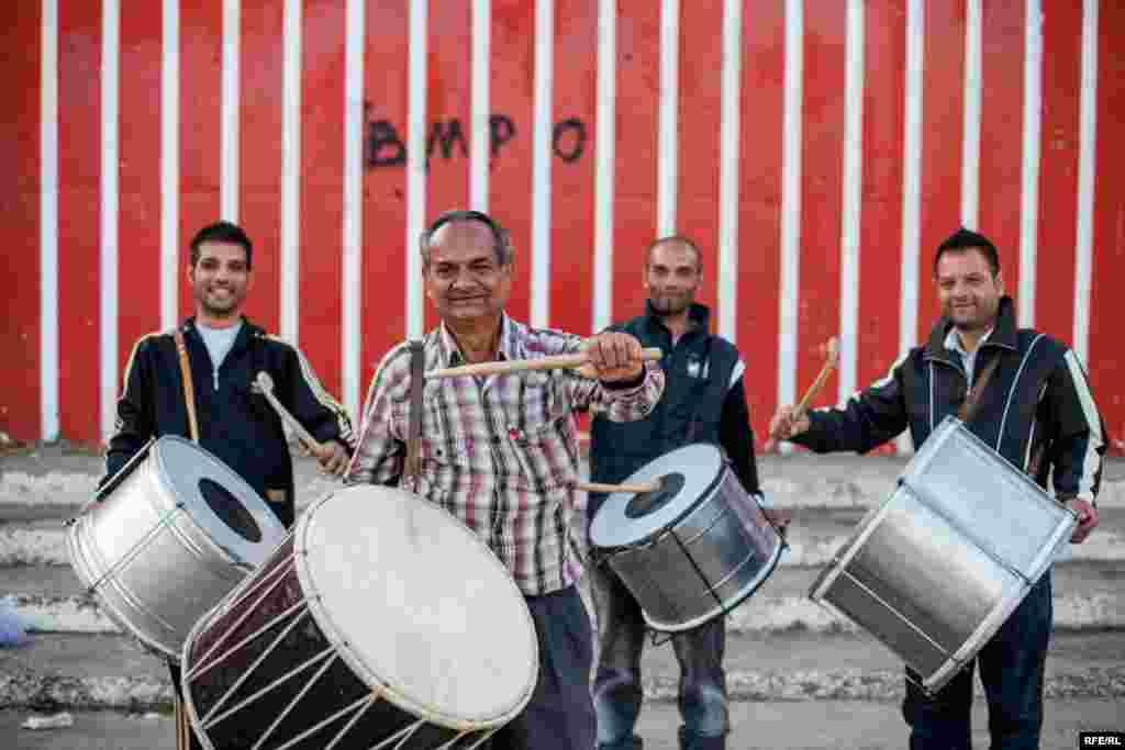 The Drummers Of Macedonia's Semka Band #26
