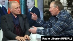 Геннадий Бурбулис и Николай Травкин