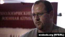 Дырэктар музэю гісторыі Магілёва Аляксей Бацюкоў.