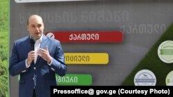 Гуьржийчоьнан премьер-министр Бахтадзе Мамука.
