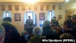 Члени «Нічних вовків» у сербському місті Шид, 20 березня 2018 року